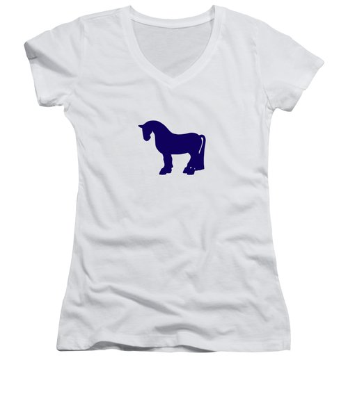 A Fat Pony Women's V-Neck (Athletic Fit)