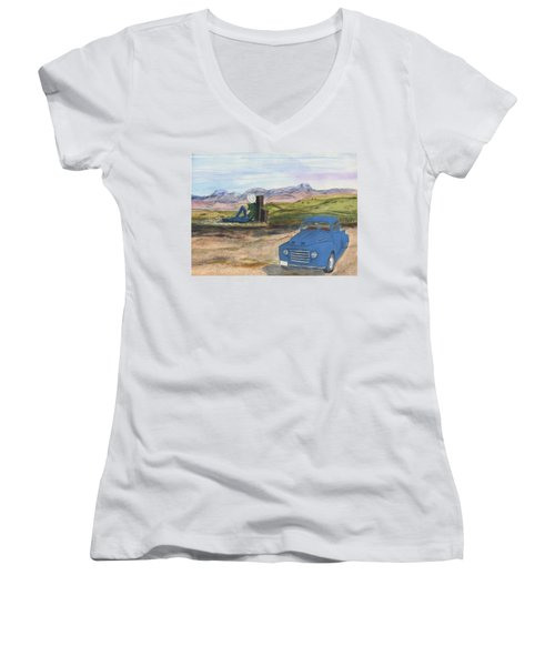 A Ford Women's V-Neck (Athletic Fit)