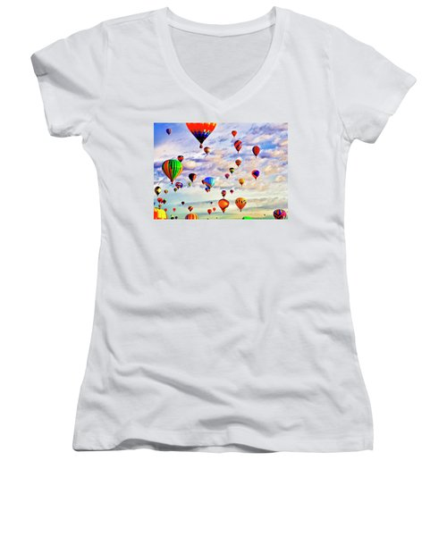 A Great Day To Fly Women's V-Neck
