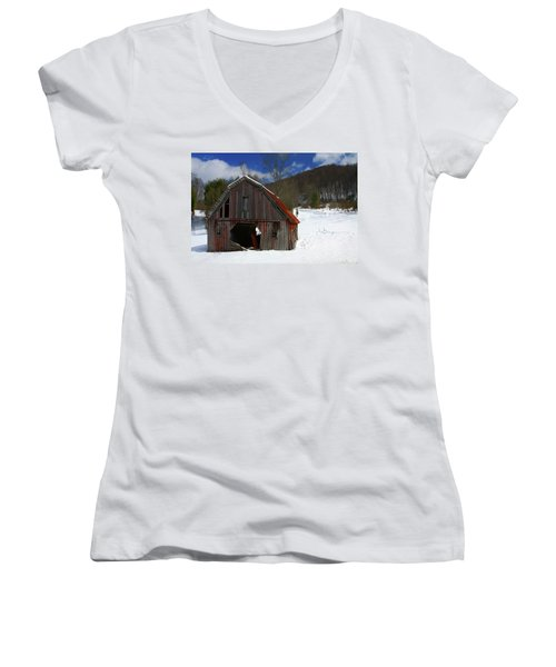 A Little Rust Women's V-Neck T-Shirt