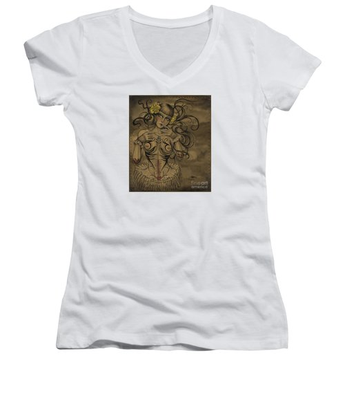 A Little Tribal Women's V-Neck
