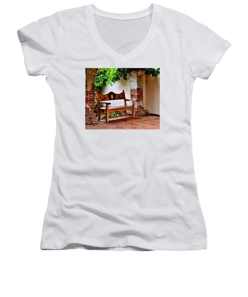 A Necessary Respite Women's V-Neck (Athletic Fit)