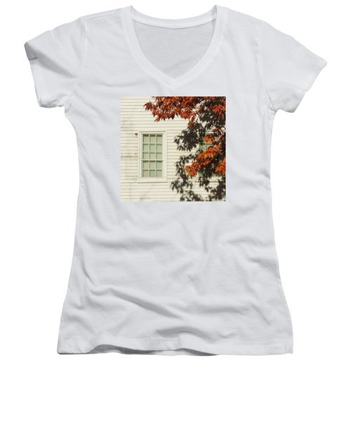 A New England Composition Women's V-Neck (Athletic Fit)