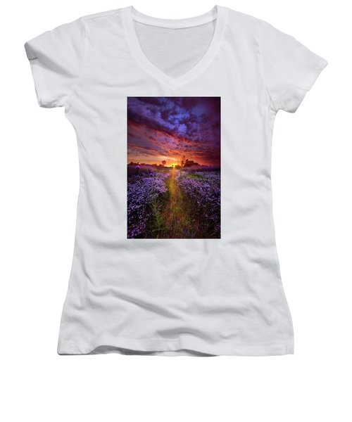 A Peaceful Proposition Women's V-Neck