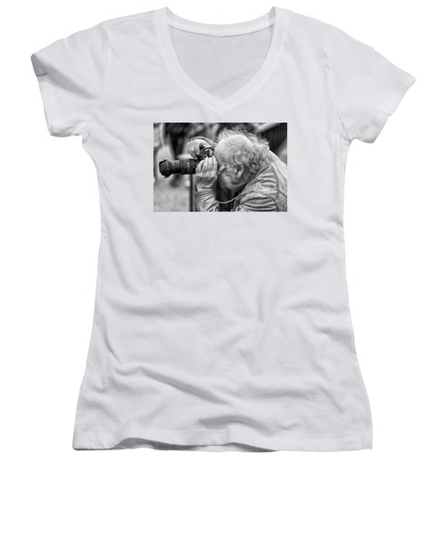 A Photographers Photographer Women's V-Neck