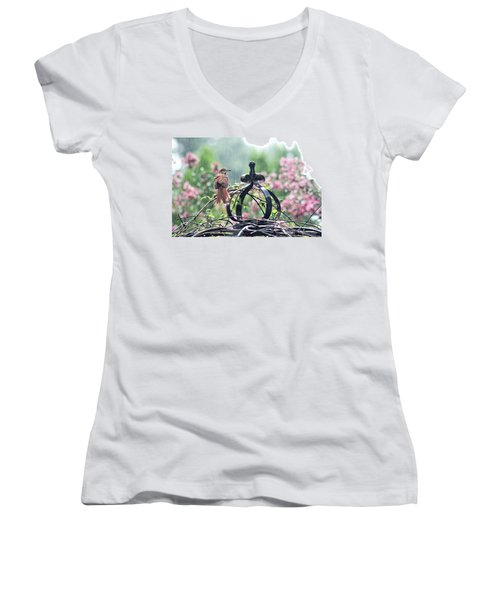 A Rainy Summer Day Women's V-Neck