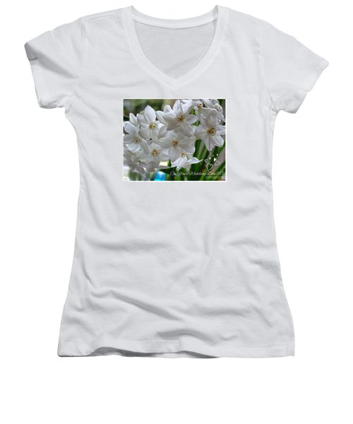 A Spring Wedding Women's V-Neck (Athletic Fit)