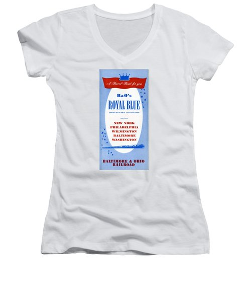 A Travel Treat For You Women's V-Neck (Athletic Fit)
