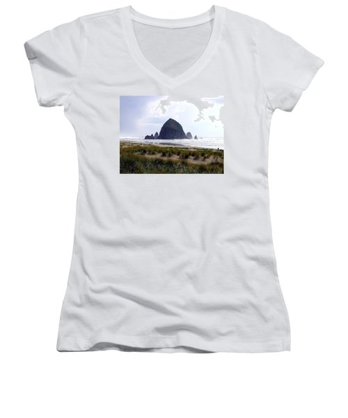 A Walk In The Mist Women's V-Neck