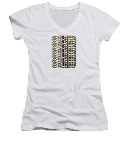 A Work In Progress Women's V-Neck T-Shirt
