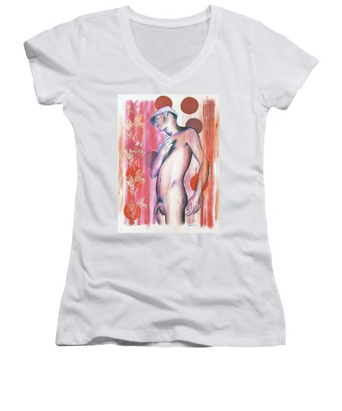 Dangerous Boys And Attraction Women's V-Neck T-Shirt