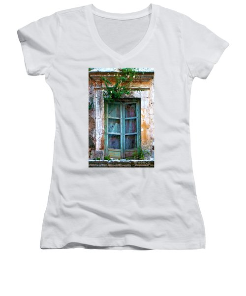 Abandoned Sicilian Sound Of Noto Women's V-Neck