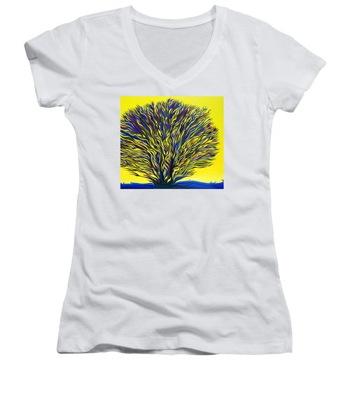 About To Sprout Women's V-Neck