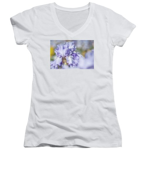 Absolute Treasure 1. The Beauty Of Irises Women's V-Neck