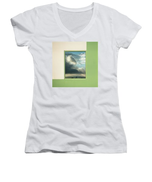 Abstritecture 19 Women's V-Neck