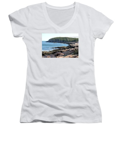Acadia Cove Women's V-Neck (Athletic Fit)