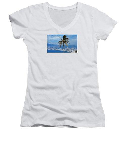 Acapulco Women's V-Neck T-Shirt