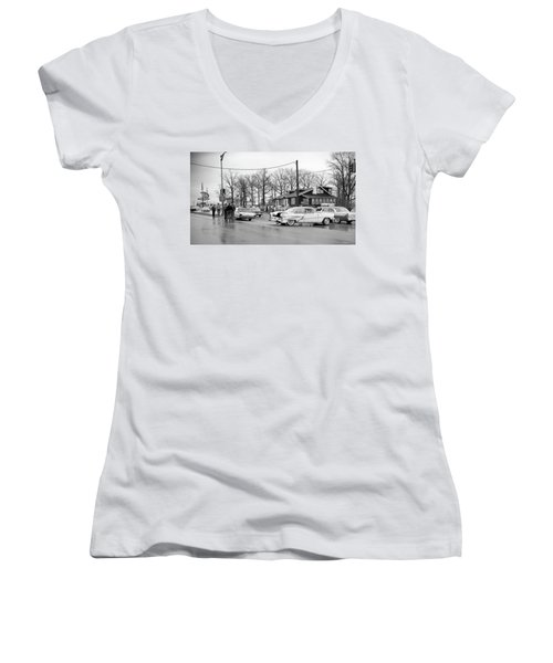 Accident 1 Women's V-Neck T-Shirt