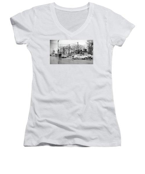 Accident 1 Women's V-Neck T-Shirt