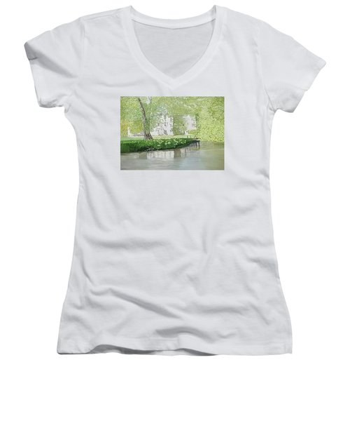 Across The Water Women's V-Neck (Athletic Fit)