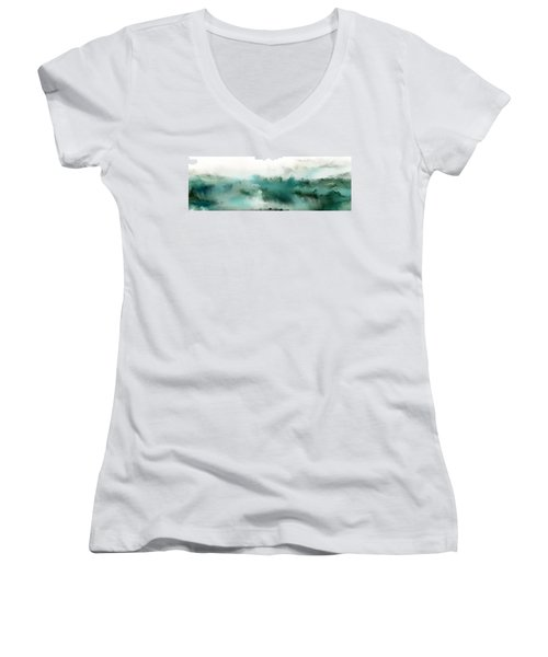 Adopted Heirs Of God. Romans 8 17 Women's V-Neck T-Shirt (Junior Cut) by Mark Lawrence