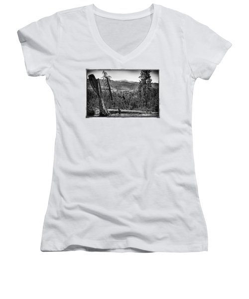 After The Fire Women's V-Neck