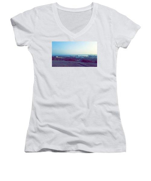 Agadir Nature Women's V-Neck T-Shirt