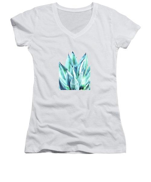 Agave Vibe Women's V-Neck T-Shirt