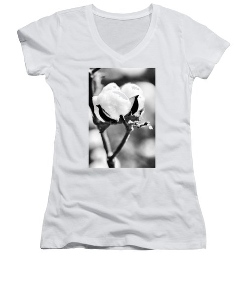 Agriculture- Cotton 2 Women's V-Neck T-Shirt