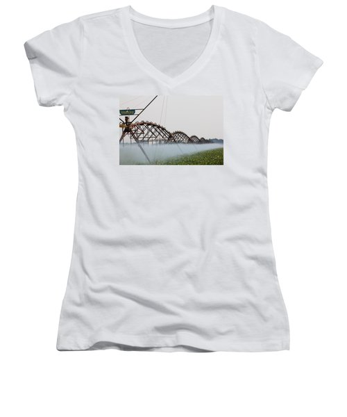 Agriculture - Irrigation 3 Women's V-Neck T-Shirt