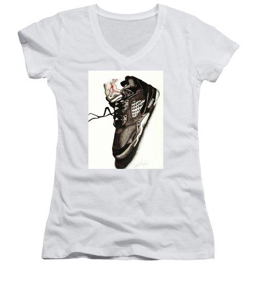 Air Jordan Women's V-Neck (Athletic Fit)