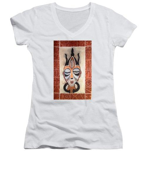 Aje Mask Women's V-Neck (Athletic Fit)