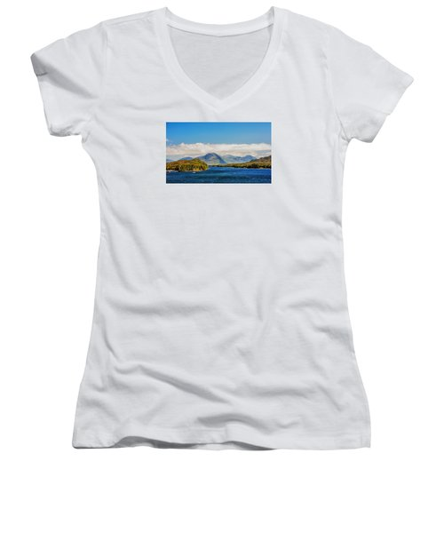Alaskan Wilderness Women's V-Neck T-Shirt