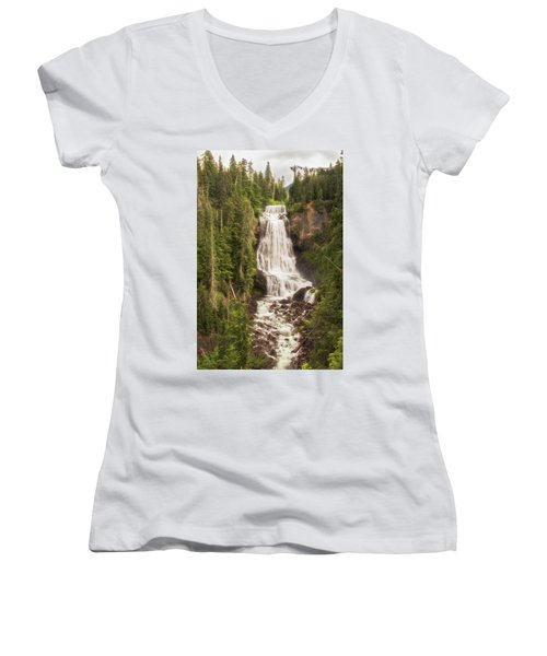 Alexander Falls Women's V-Neck (Athletic Fit)