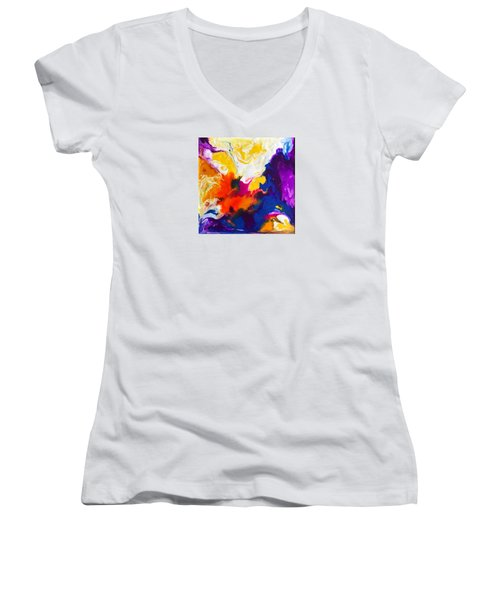 All I Wanna Do Women's V-Neck (Athletic Fit)