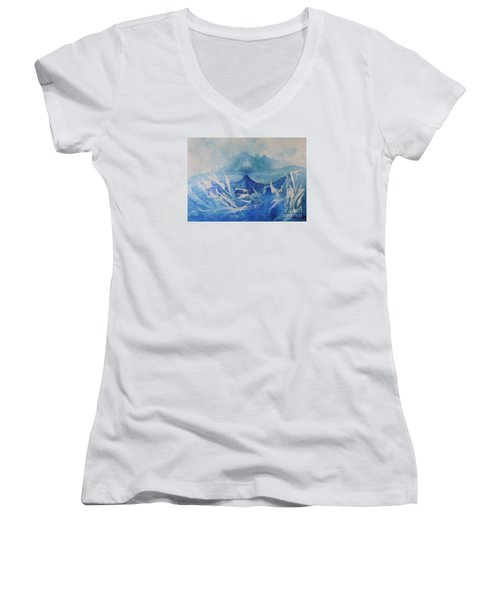 All Is Whale Women's V-Neck T-Shirt