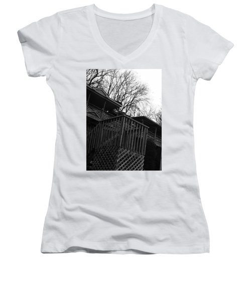 All The Way Women's V-Neck