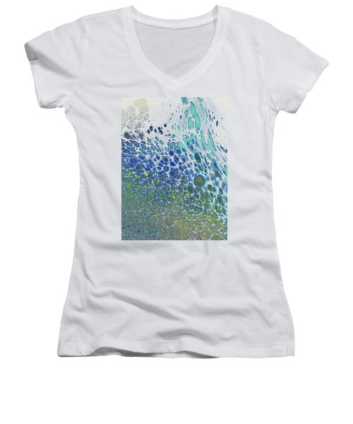 Along The Wish Filled Shore Women's V-Neck (Athletic Fit)