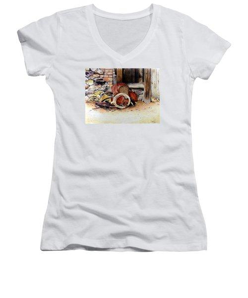 Amanda's Saddle Women's V-Neck T-Shirt
