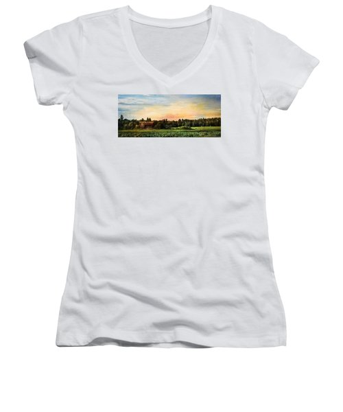 American Dream Women's V-Neck