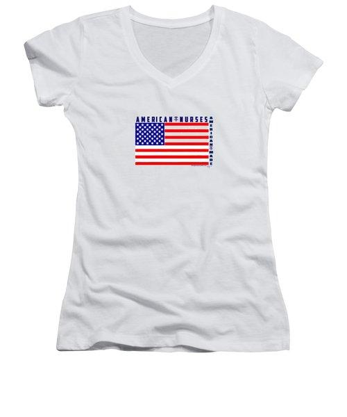 American Nurses Women's V-Neck (Athletic Fit)