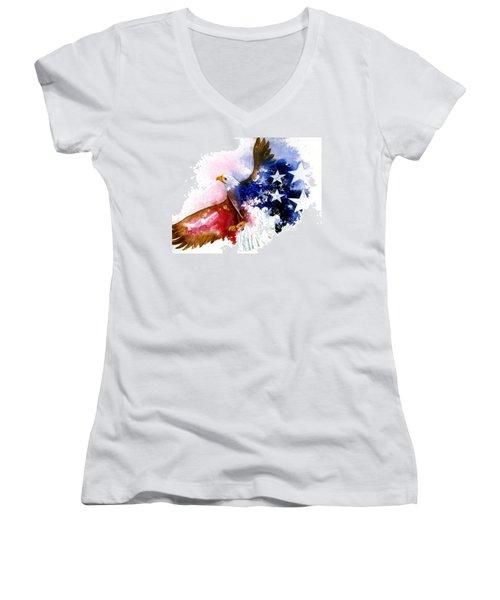American Spirit Women's V-Neck