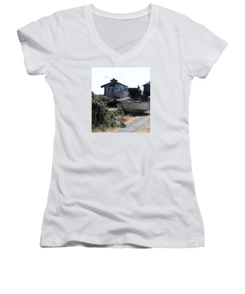 An Island Memory Women's V-Neck