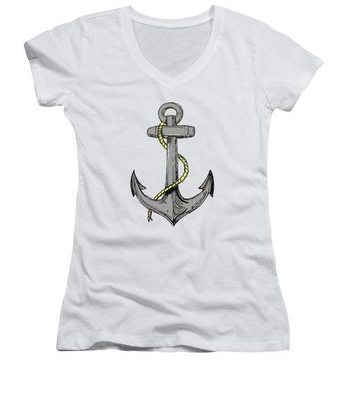 Anchor Women's V-Neck