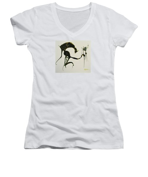 Animalia I Women's V-Neck T-Shirt