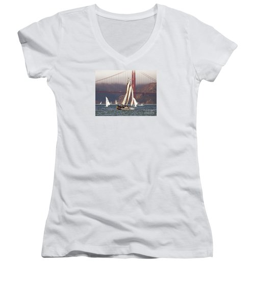 Another Fine Day Women's V-Neck T-Shirt
