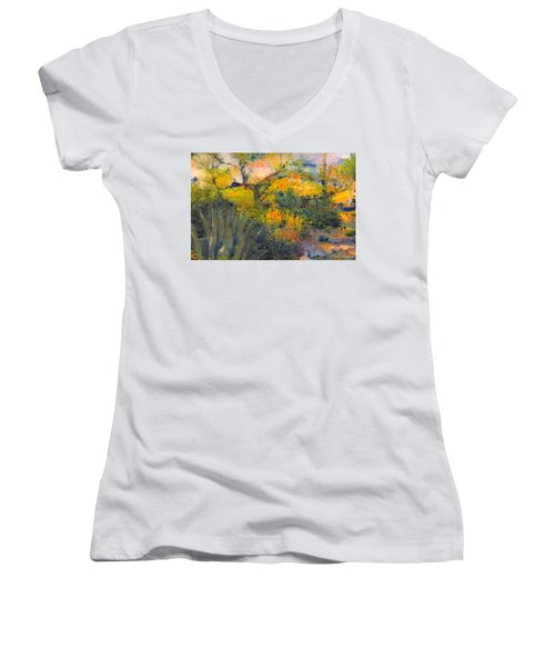 Another Renoir Moment Women's V-Neck (Athletic Fit)