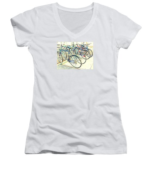 Anyone For A Ride? Women's V-Neck