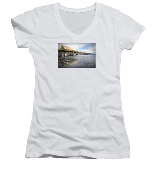 Apache Pier Women's V-Neck T-Shirt
