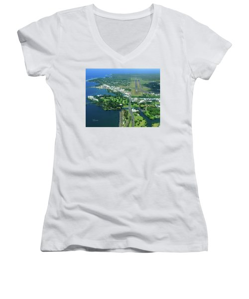 Approach Into Ito Women's V-Neck